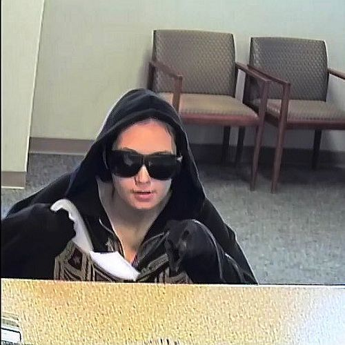 Police release photo of bank robbery suspect